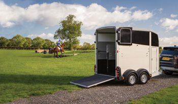 דגם Ifor Williams HBX506 – קרון סוסים full